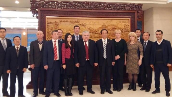 Делегация КПРФ во главе с К.К. Тайсаевым посетила КНР