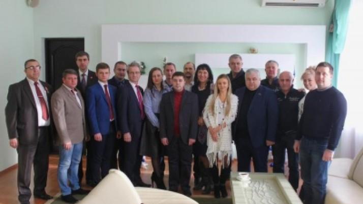 Завершилась рабочая поездка К.К. Тайсаева и В.Р. Родина в Донецкую и Луганскую народные республики
