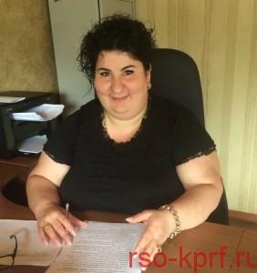 Мукагова Диана Казбековна - секретарь Северо-Осетинского рескома КПРФ по молодежной политике