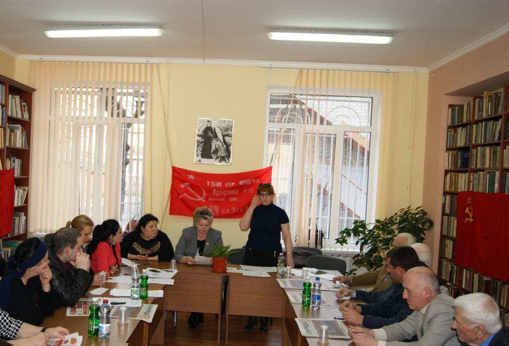 Сталинский РК КПРФ вновь стал первым