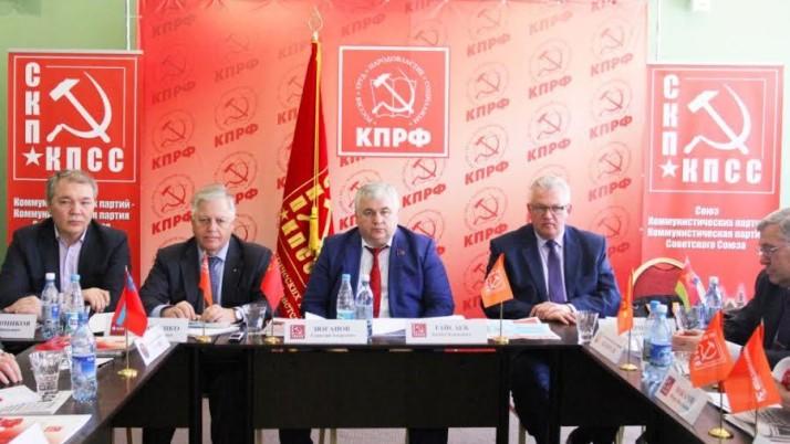 К.К. Тайсаев: «Заседание Политисполкома СКП-КПСС еще раз показало сплоченность всех партий, входящих в его состав»