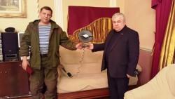К.К. Тайсаев: «Граждане Донецкой Народной Республики связывают с ее руководителем А.В. Захарченко надежды на возрождение родного края»