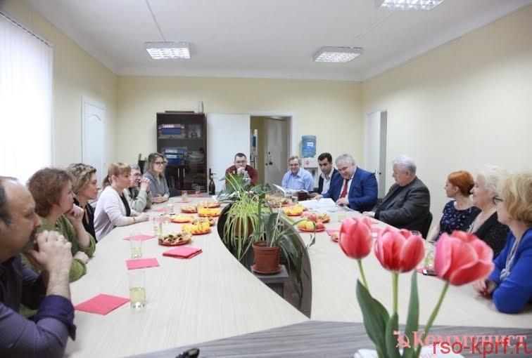 К.К. Тайсаев встретился с творческим коллективом газеты молдавских коммунистов