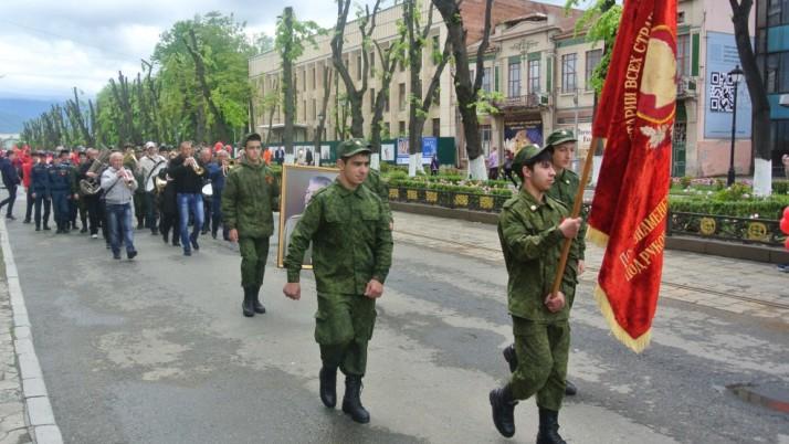 Коммунисты Северной Осетии отметили День международной солидарности трудящихся.