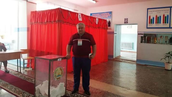 К.К. Тайсаев в качестве международного наблюдателя принял участие в Референдуме в Таджикистане