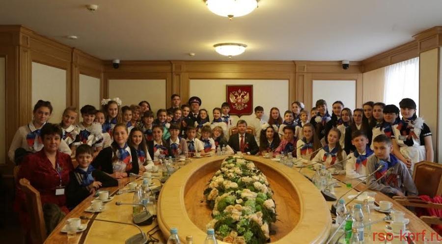 К.К. Тайсаев: «Создание условий для нормальной учебы и воспитания детей – залог будущего возрождения многострадальной земли Новороссии»