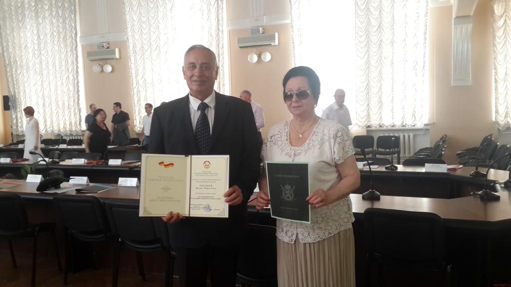 Теблоев Михаил Маркозович — заслуженный врач РСО — Алания.
