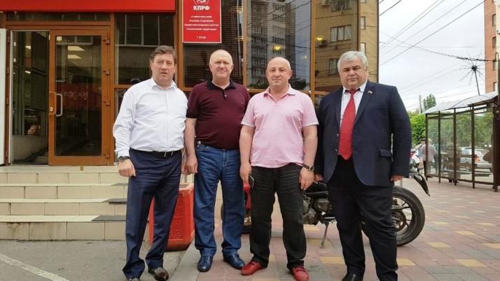 К.К. Тайсаев: «Коммунисты СКФО готовы к предстоящей избирательной кампании»