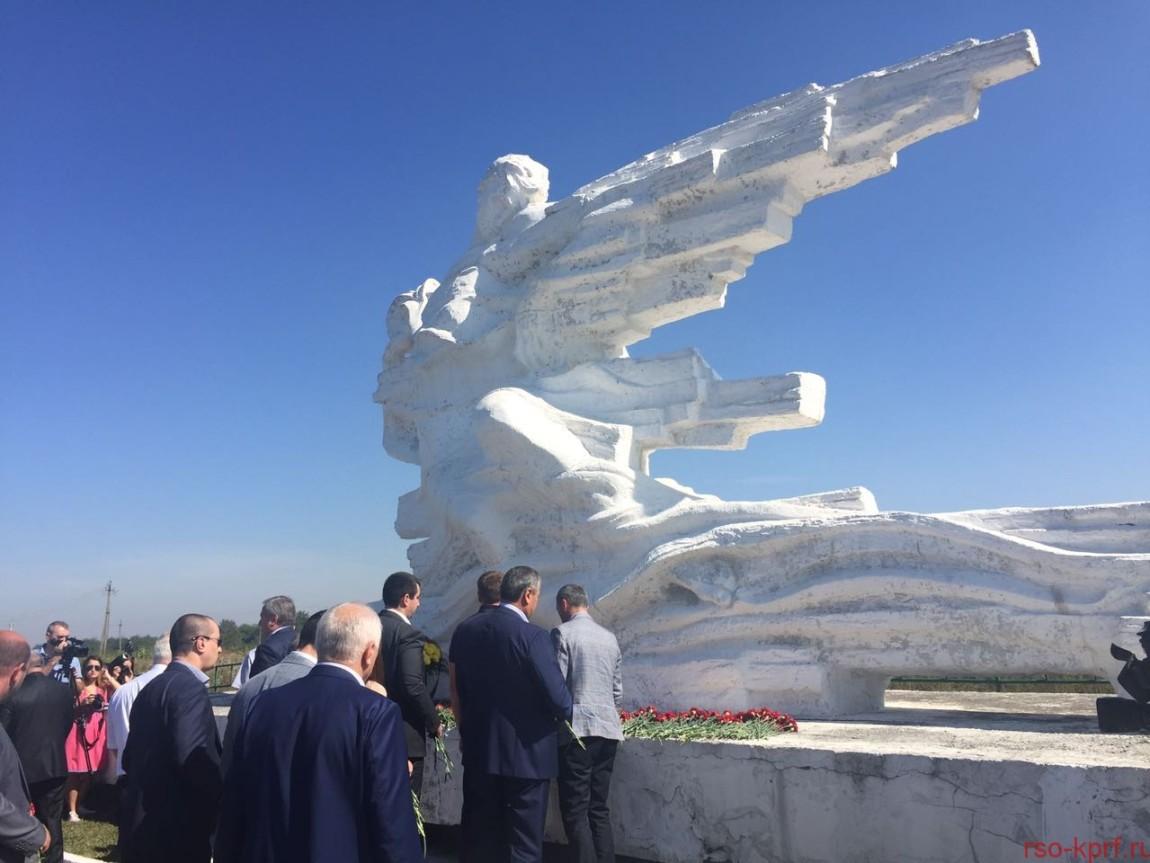 Дань памяти жертвам стихии