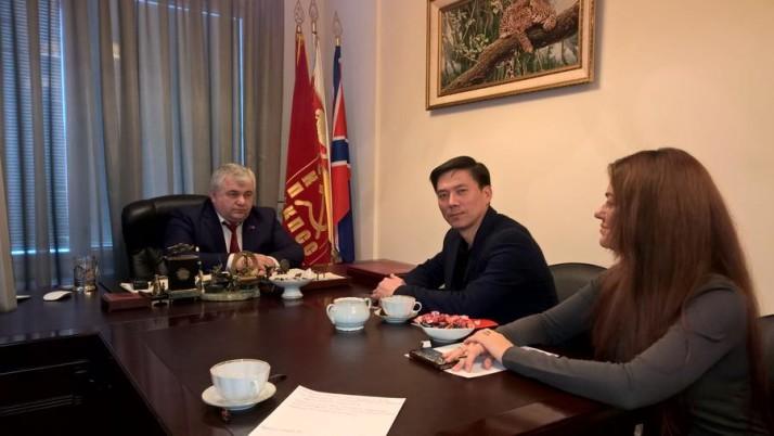 К.К. Тайсаев встретился с советником Посольства КНДР Пхе Мун Су