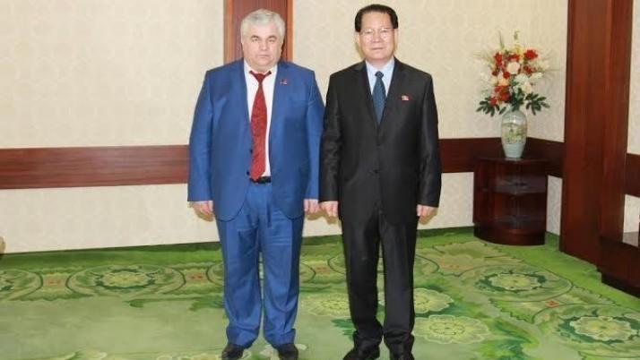 К.К. Тайсаев встретился с послом КНДР в России Ким Хен Чжуном