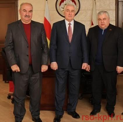 К.К. Тайсаев встретился с президентом Республики Южная Осетия Л.Х. Тибиловым