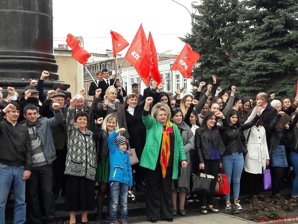 Коммунисты Северной Осетии отпраздновали день рождения В.И. Ленина