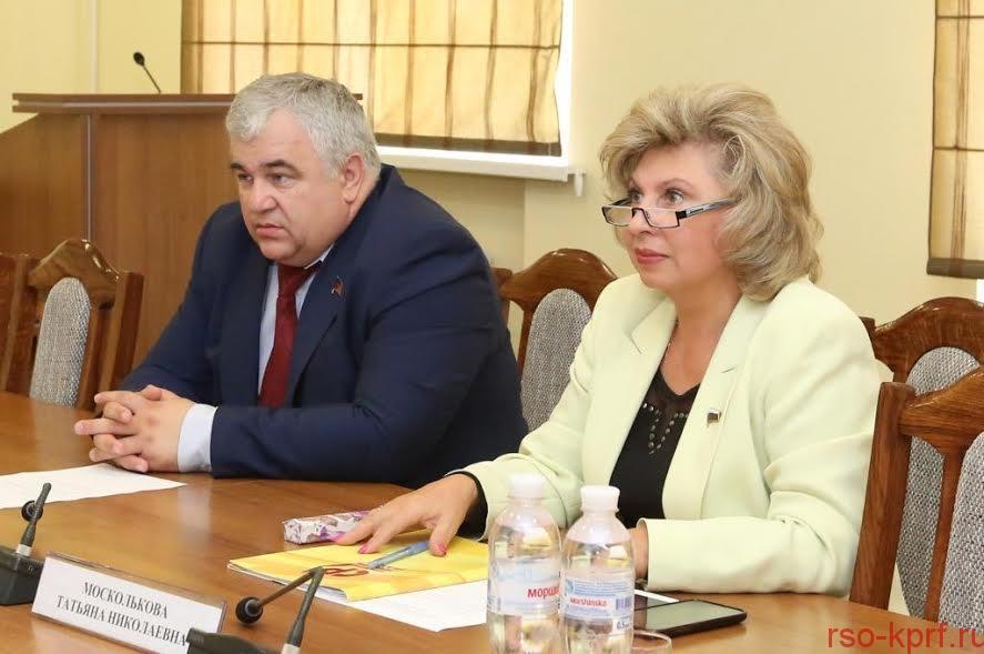 К.К. Тайсаев: «Уполномоченный по правам человека Т.Н. Москалькова достойно ведёт работу, направленную на восстановление прав и свобод Российских граждан»