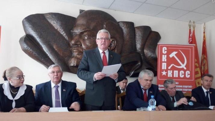 К.К. Тайсаев принял участие в работе VI (майского) Пленума ЦК Компартии Белоруссии