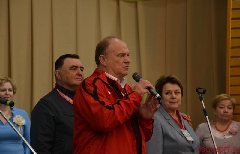 Г.А. Зюганов: Наш самый большой дар – это русский язык!