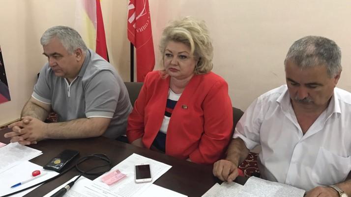 Второй этап XXXII Конференции коммунистов Северной Осетии