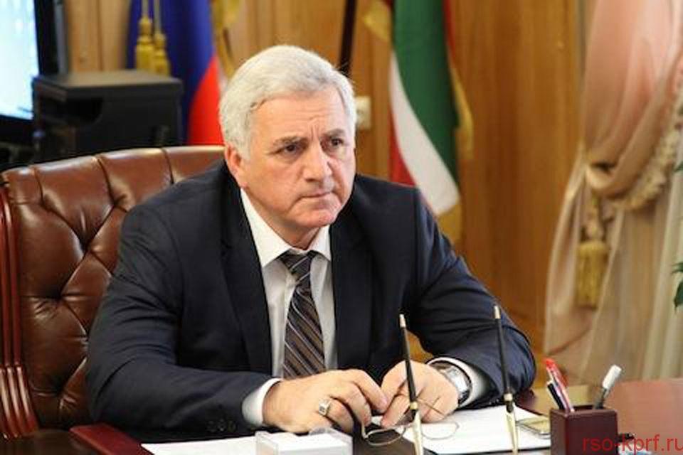 Е.А. Князева выразила соболезнование в связи с кончиной М.М. Асхабова