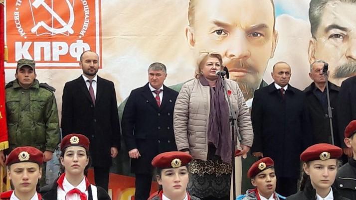В Северной Осетии отметили 100-летие Великой Октябрьской социалистической революции