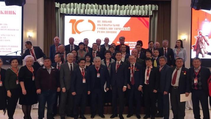 К.К. Тайсаев выступил в Астане на международной научной конференции, посвященной 100-летию Великой Октябрьской социалистической революции