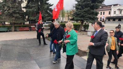 Коммунисты Северо-Осетинского рескома КПРФ почтили память Владимира Ленина