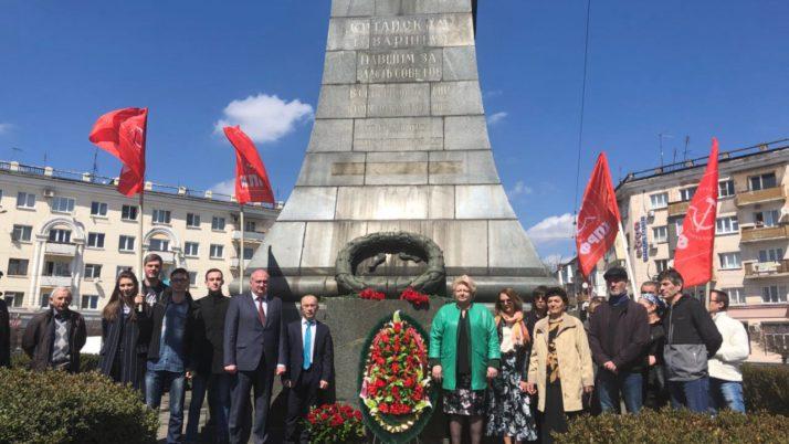 Во Владикавказе прошли мероприятия, приуроченные памяти китайских воинов-интернационалистов