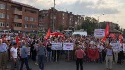 Во Владикавказе прошел митинг против пенсионной реформы