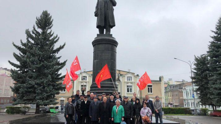 В память Владимира Ленина