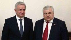К.К. Тайсаев находился с рабочим визитом в Республике Абхазия