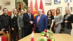 Казбек Тайсаев с рабочим визитом посетил Республику Беларусь