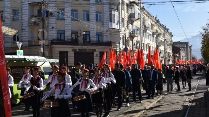 В Северной Осетии отметили 102-ую годовщину Великой Октябрьской социалистической революции