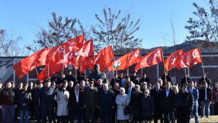 В Северной Осетии прошли праздничные мероприятия, посвященные 140-летию со дня рождения И.В. Сталина