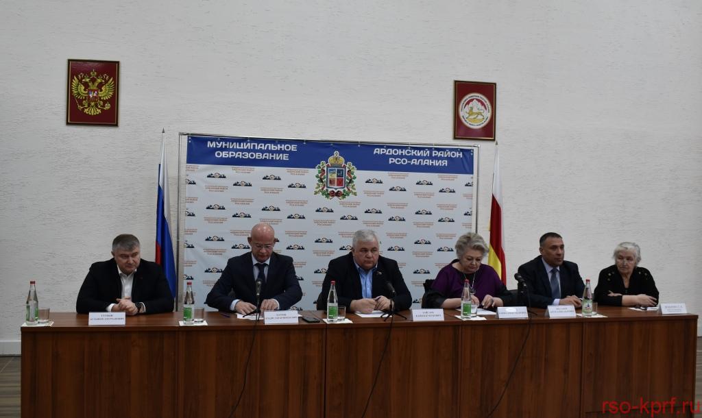 Состоялось выездное заседание фракции КПРФ в Парламенте РСО — Алания