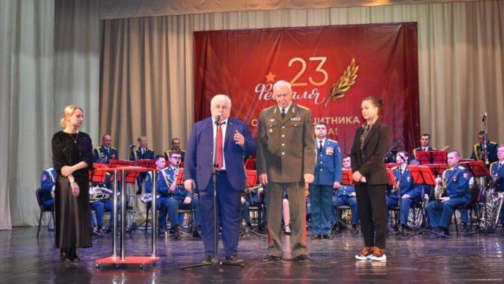 К.К. Тайсаев в Северной Осетии принял участие в мероприятиях, посвященных Дню Советской Армии и Военно-Морского Флота